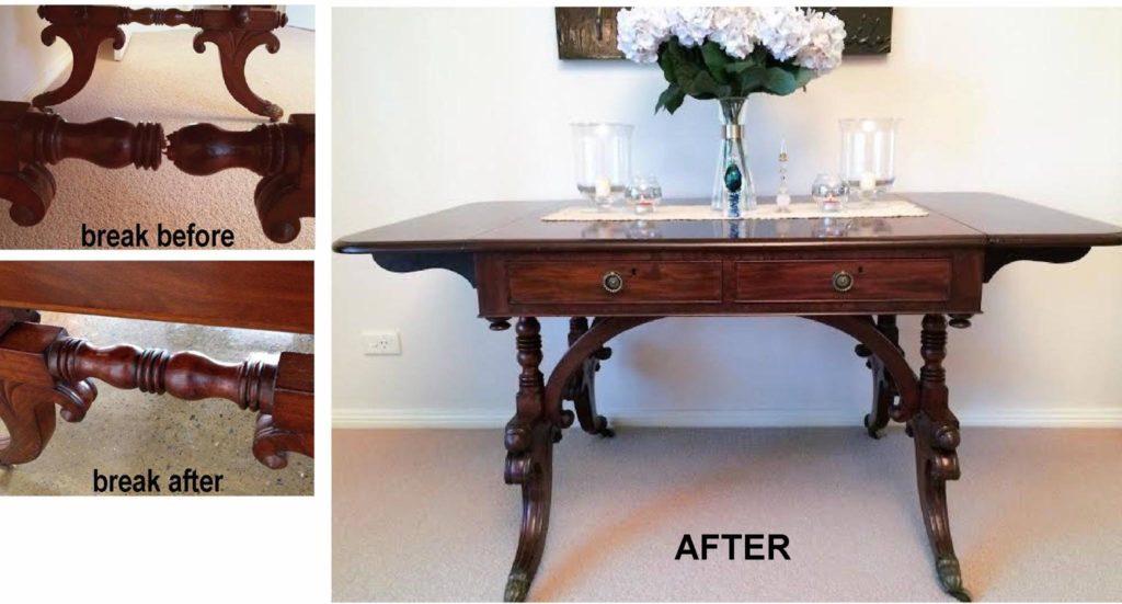 William IV Mahogany Sofa Table c1830