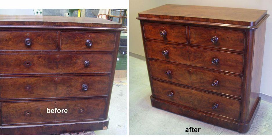 Victorian Rosewood Chest of Drawers c1870