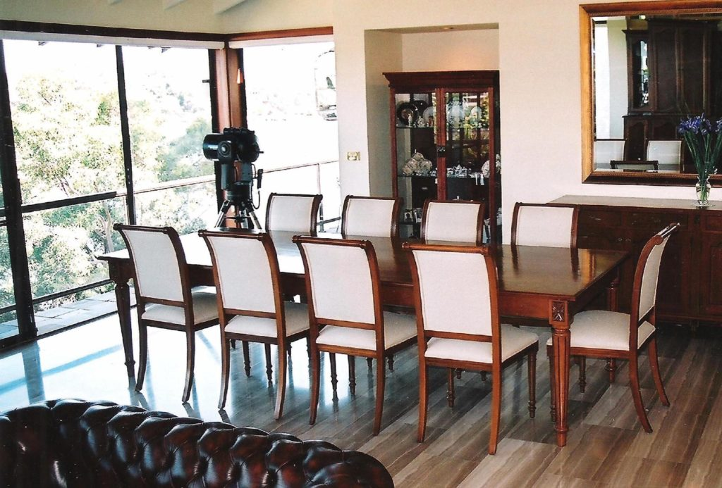 Upholster 10 Dining Chairs in Marco Linen