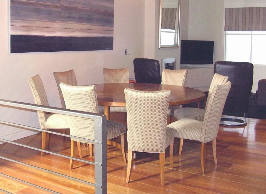 Upholster 8 x Dining Chairs