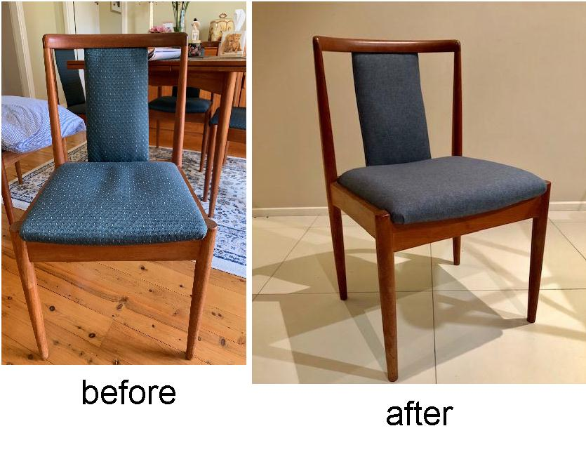 Reupholster and Recover Parker Dining Chair