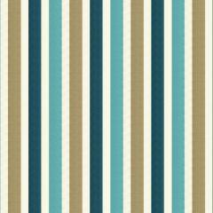 Vivid Stripe Turquoise Robert Allen