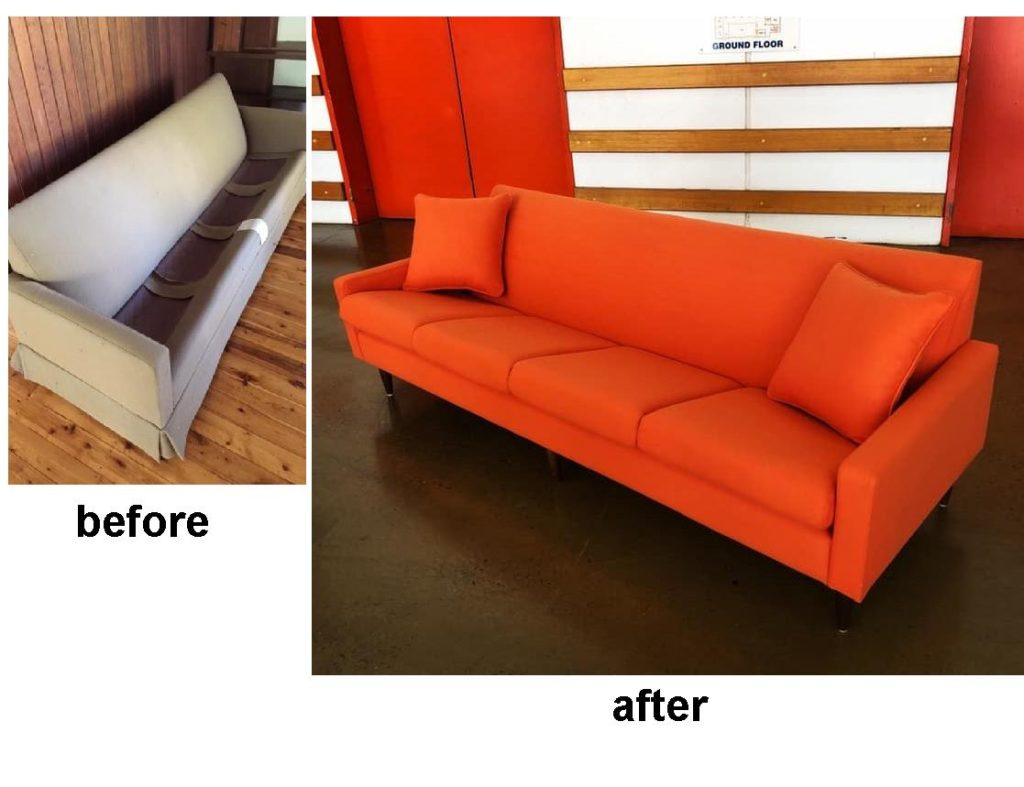 Reupholster and Recover Parker Lounge