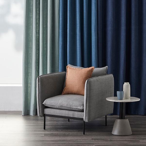 DAVINA RANGE by Warwick . Premium 100% linen fabric with a fine textured weave. View Fabrics...