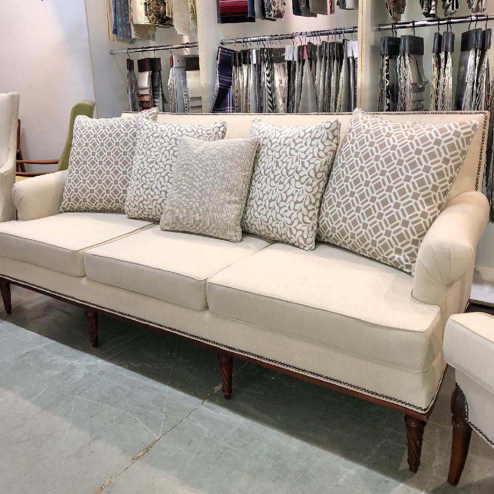 Reupholster & recover sofa