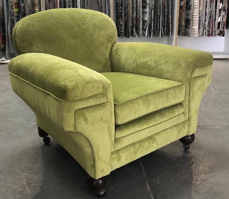 Art Deco Vintage Club Armchair c1940s