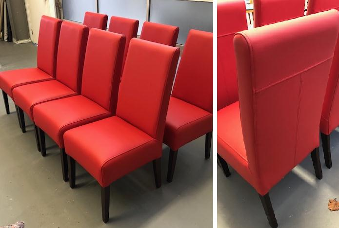 Recover Leather Chairs